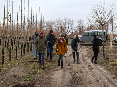 Visit To Tree Nursery Arboeko